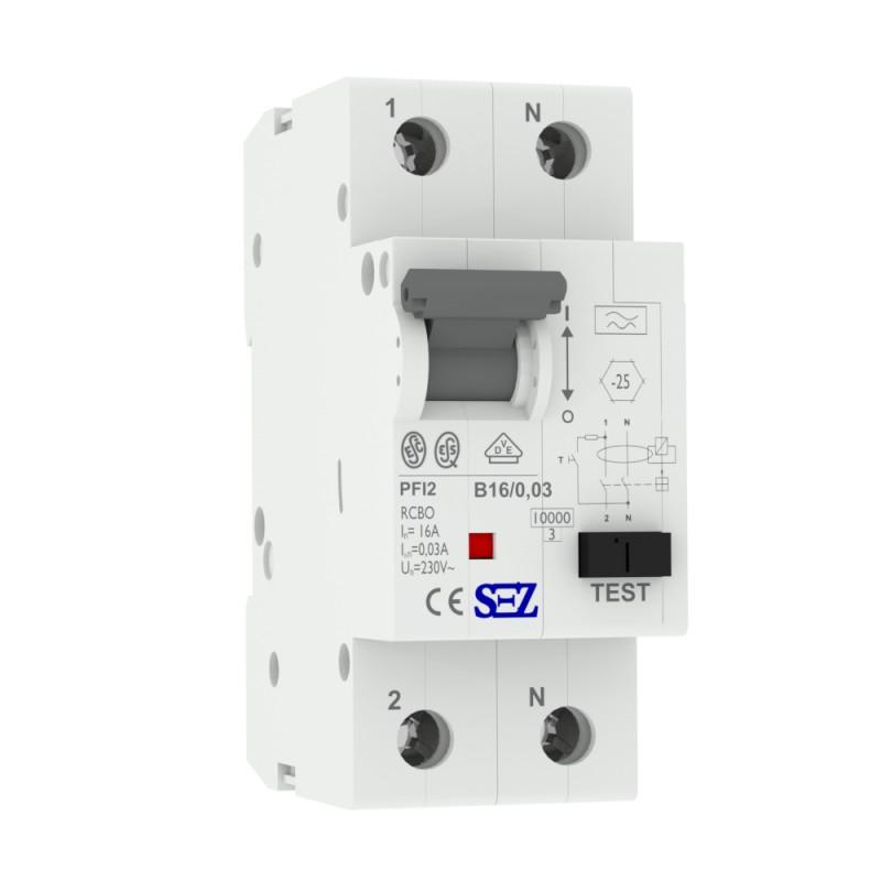 Fi ls rcbo b 16a 30ma 10ka vde b16a - Fi schalter badezimmer ...
