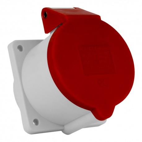 Einbausteckdose 32A/5P 3P+N+PE IP44 Bals