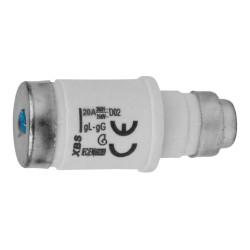 Sicherungseinsatz D02 20A E18 Sicherung gL-gG XBS 2056