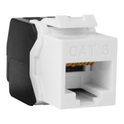 Keystone CAT 6 Modulungeschirmt RJ45 zu LSA werkzeugfreie Montage DIGITUS f. PD12 geeignet 9398