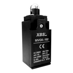 Endschalter Grenztaster Positionsschalter mit Rollendrucktaster MVGK-102 XBS 1006
