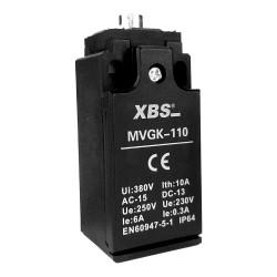Positionsschalter mit Stößel 1NC/1NO Endschalter Grenztaster Positionstaster MVGK-110 XBS 2003