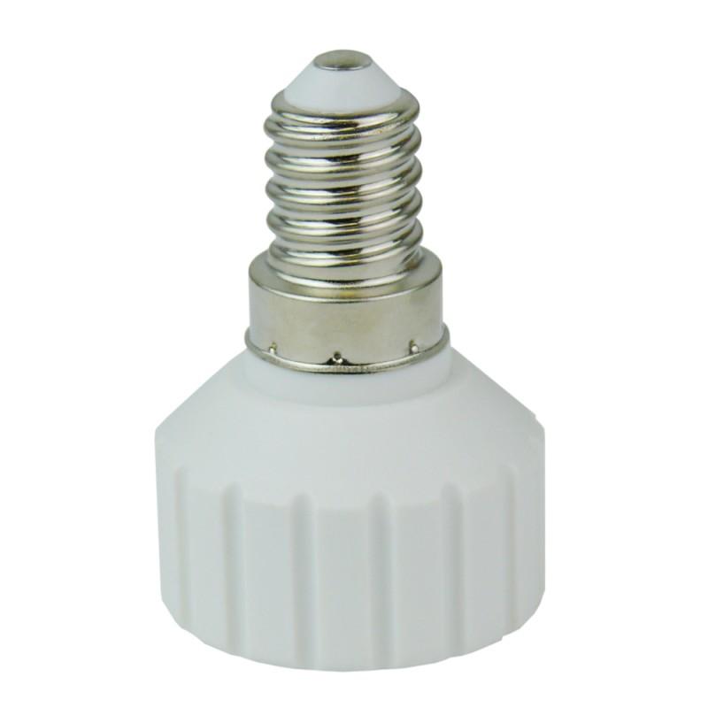 lampensockel adapter leuchtmittel fassung socket e14 gu10 preis zone. Black Bedroom Furniture Sets. Home Design Ideas