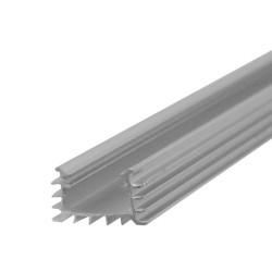 1m LED ALU Profil Aluminum Typ A1 Aufbau Aluprofil LED Strip Aluminumprofil  ohne Abdeckung und Endkappen LEDPROFIL ALU A1 1M