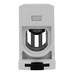 Verteilerblock f. Al/Cu geeignet 25-150mm2 1000V AC/DC grau  Morek