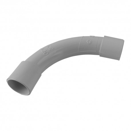 PVC Rohr Bogen 90° Ø20mm