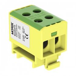 Hauptleitungsklemme 4x2,5-35mm2 gelb-grün 1P OTL 35-2 MAA2035Y10 Morek 4054