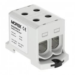 Hauptleitungsklemme 4x6-95mm2 grau 1P OTL 95-2 MAA2095A10 Morek 4145