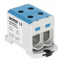 Hauptleitungsklemme 4x6-95mm2 blau 1P OTL 95-2 MAA2095B10 Morek 4122