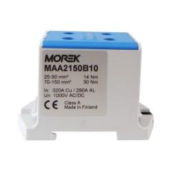 Hauptleitungsklemme 4x25-150mm2 blau 1P OTL 150-2 MAA2150B10 Morek 4207
