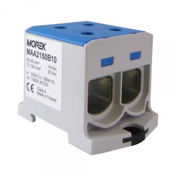 Hauptleitungs abzweigklemme cable borna 1,5-25mm2 1p fvk-25-1//2 VDE azul 0794