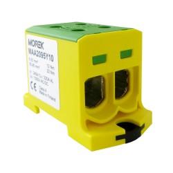 Hauptleitungsklemme 4x6-95mm2 gelb-grün 1P OTL 95-2 MAA2095Y10 Morek 4139