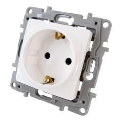 Schutzkontakt Steckdose Schuko 2P+E 16A 250 V~ ultraweiß Kindersicherung Berührungsschutz NILOE Eco 764529 Legrand 2598