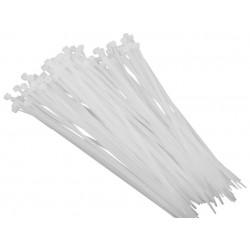 100 stk. 3,5/200 mm Kabelbinder weiß OZN 35-200 25.40 E-P 0776
