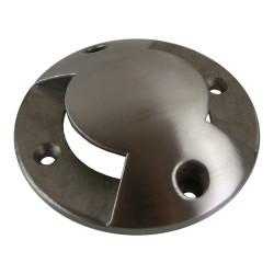 Abdeckung für Bodeneinbaustrahler ALFA-O/ALFA-K zweibahnig rostträger Stahl Gartenleuchte ON-ALFAO-C2W GTV 2384