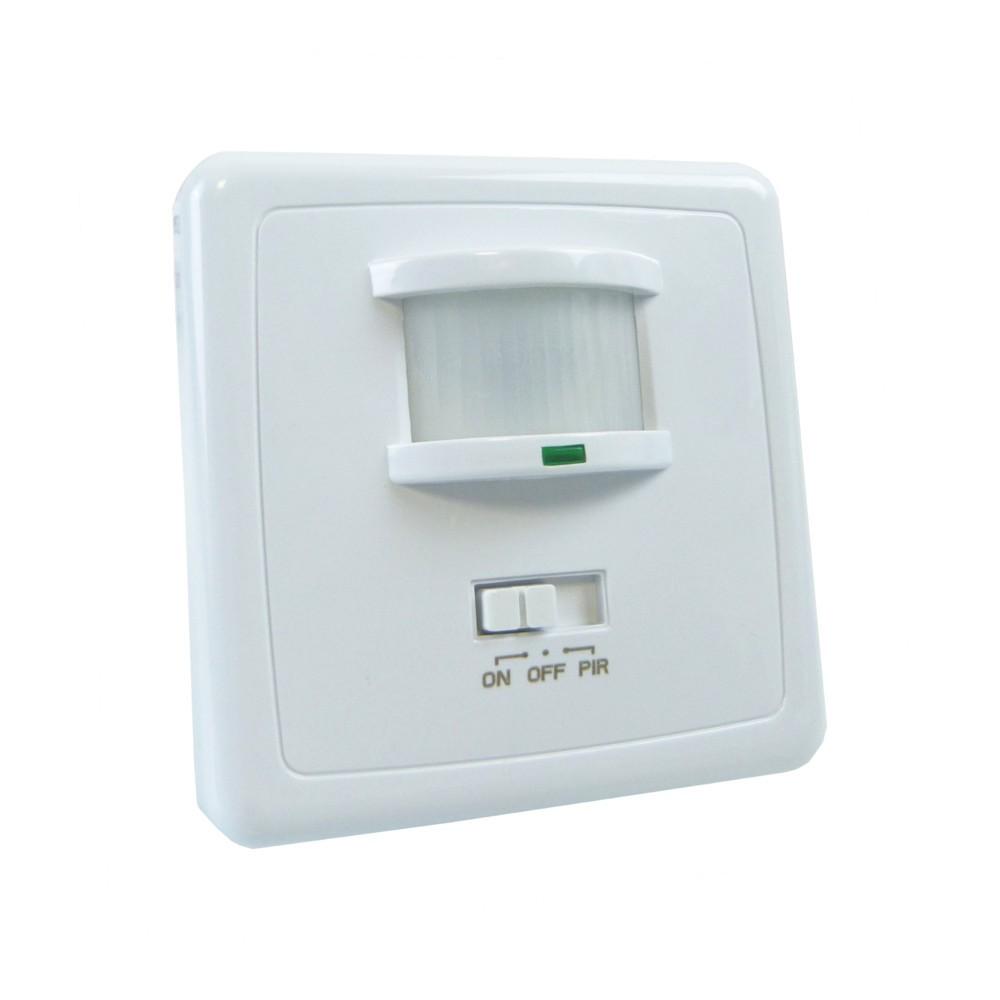 Infrarot Bewegungsmelder Unterputz Wand Einbau 160 ° PIR für Lampen Leuchten LED