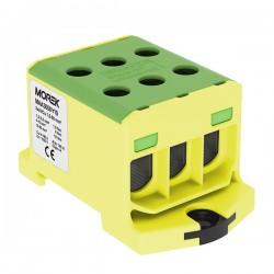 Hauptleitungsklemme 6x1,5-50mm2 gelb-grün 1P OTL 50-3 MAA3050Y10 Morek 4306