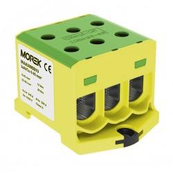 Hauptleitungsklemme 6x 6-95mm2 gelb-grün 1P OTL 95-3 MAA3095Y10 Morek 4337