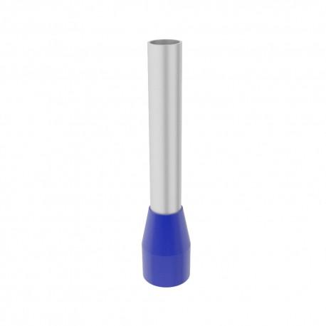 E 2,5/12 Aderendhülsen isoliert blau 2,5mm2/12mm