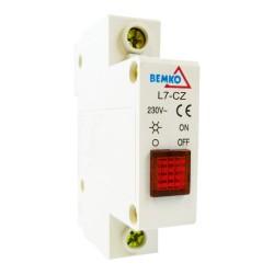Rot Leuchtmelder phasenkontrolle signalleuchte 115-250V AC