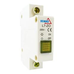 BEMKO Gelb  Leuchtmelder Phasenkontrolle Signalleuchte 115-250V AC 2020