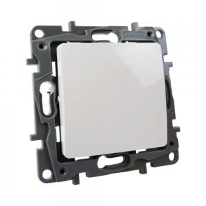 Treppenschalter 10AX 250V IP21 weiß Schalter Unterputz Niloe Eco764501 Legrand