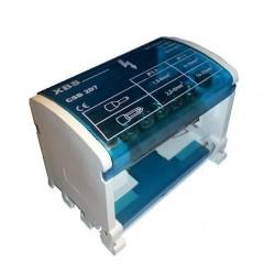 Abzweigklemme Sammelklemme Verteilerblock auf TH35 2P 101A 500V CSB-207 XBS