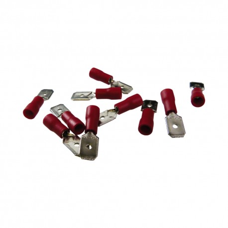 Kabelschuh AS1 6,3 x 8 Rot 0,15-1,5mm²