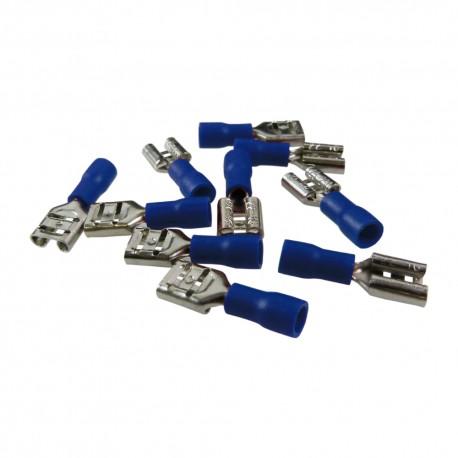 Flachstecker AS4 6,3 x 8 Blau 1,5-2,5mm²