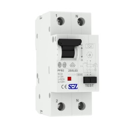 SEZ Fi-Schalter 25A 30mA 2p 10kA RCCB