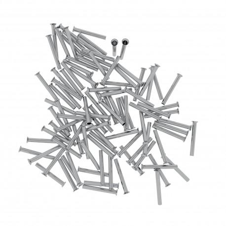 Aderendhülsen unisoliert 0,5mm²/10mm