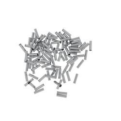 100 Stück 2,5/12 Aderendhülsen unisoliert 2,5mm²/12mm EN2512 Elpromet 0422