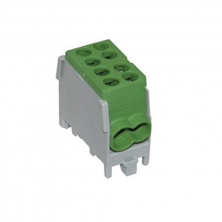 Verteilerblock 1,5-25mm2 1P FVK-25-1/2 GRÜN