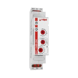 10 Funktionen Zeitrelais Multifunktionsrelais Time Relay 12-240V Start und Reset Relais RPC-1MB-UNI Relpol 0240