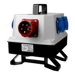Stromverteiler BAU 5x230V mit 16A Einbaustecker Verteilerkasten 6138