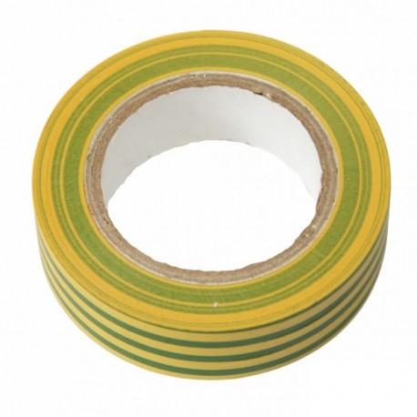 bemko isolierband 10m 15mm gelb gr n klebeband band kabel leitung. Black Bedroom Furniture Sets. Home Design Ideas