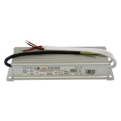 LED Trafo IP67 12V DC 8,3A 100W LED Adapter A12S 8331 MW Power 9747