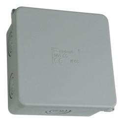 Abzweigkasten 80x80 6+2 IP65 Aufputz Abzweigdose Verbindungsdose 003.CS M-L 0943