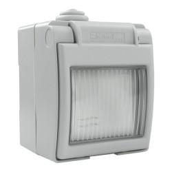 Ein- und Aus- Schalter Aufputz IP55 grau 1570.00 M-L 4114