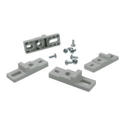 4 st. PVC-Wandlaschen Haltegriff für HIGHT-Gehäuse Sicherungskasten Wandmontagehalterung 1.940.ST M-L 0020