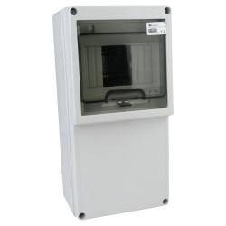 Stromverteiler IP65 5 Module Verteilerkasten Feuchtraumverteiler Sicherungskasten Aufputz 6.8200 M-L 1135