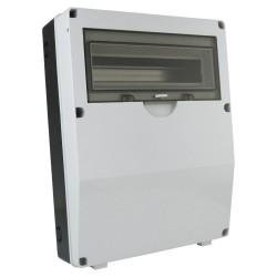Stromverteiler IP65 14Module Verteilerkasten Feuchtraumverteiler Sicherungskasten Aufputz DV-XL M-L