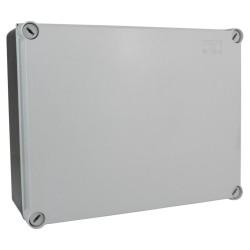 Abzweigkasten 245x195x95 mm IP66 Aufputz Abzweigdose Verbindungsdose hermetische Industriegehäuse DV-L M-L