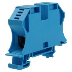 WDU 35N BL Durchgangs-Reihenklemme Schraubanschluss 35mm2 500V 125A blau 1040480000 Weidmüller 3834