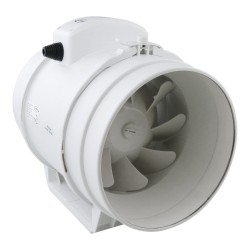 Rohrventilator Rohrlüfter Ventilator Kanallüfter ø150mm Gebläse Einschub aRil 0032