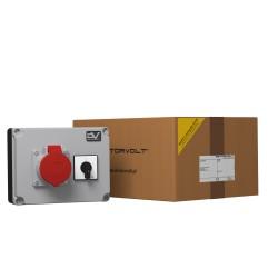 Wanddose WDD 1x16A Nockenschalter 16A 0-1 Stromverteiler Doktorvolt® 2985
