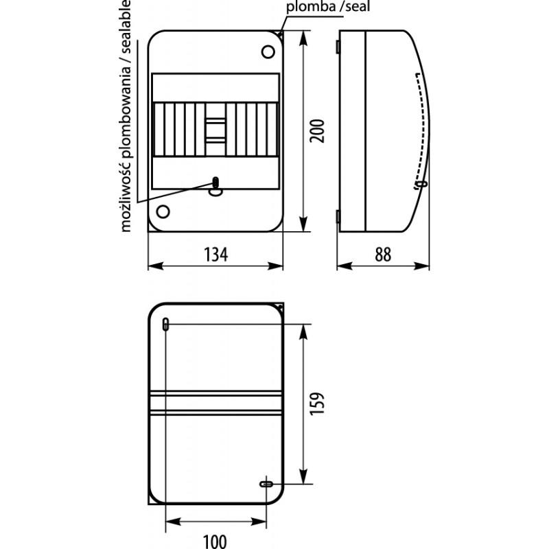 Reedsensoren schaltet AUS vergossen MK3-1B14  Reedschalter Reedkontakt  Reedver2