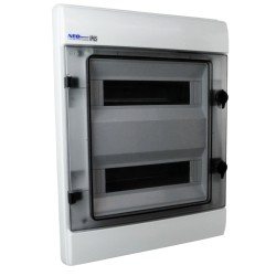 Feuchtraumverteiler Verteilerkasten Unterverteilung RHp 24 Module UP IP65 36.240 UP VDE E-P 5955