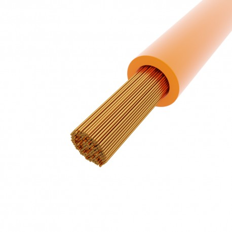 Litze 1mm2 orange LGY H05V-K 4510093