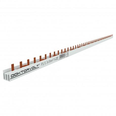 3P Phasenschiene 54p 10mm²